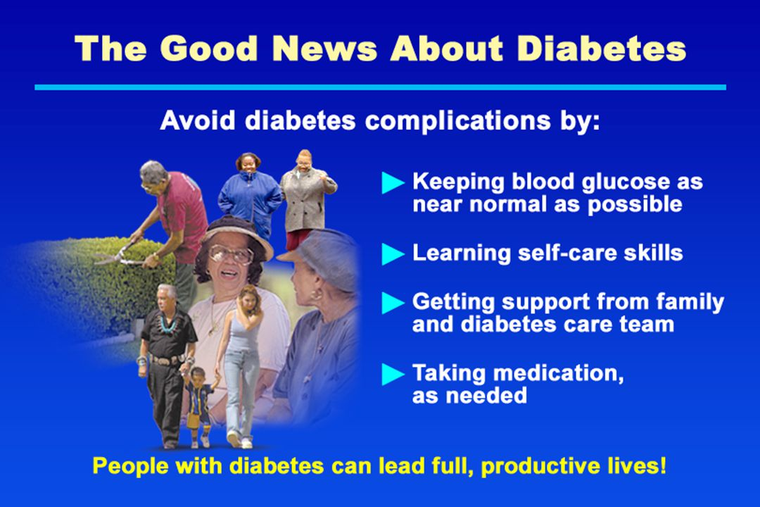 The Good News About Diabetes