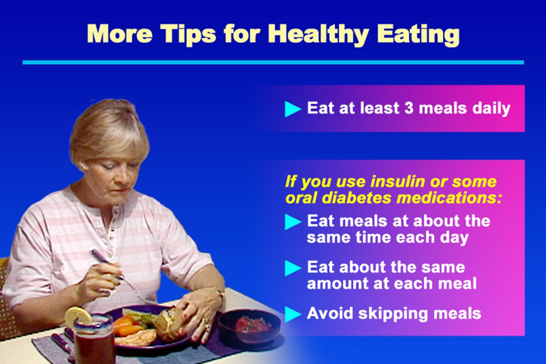 More Tips for Healthy Eating