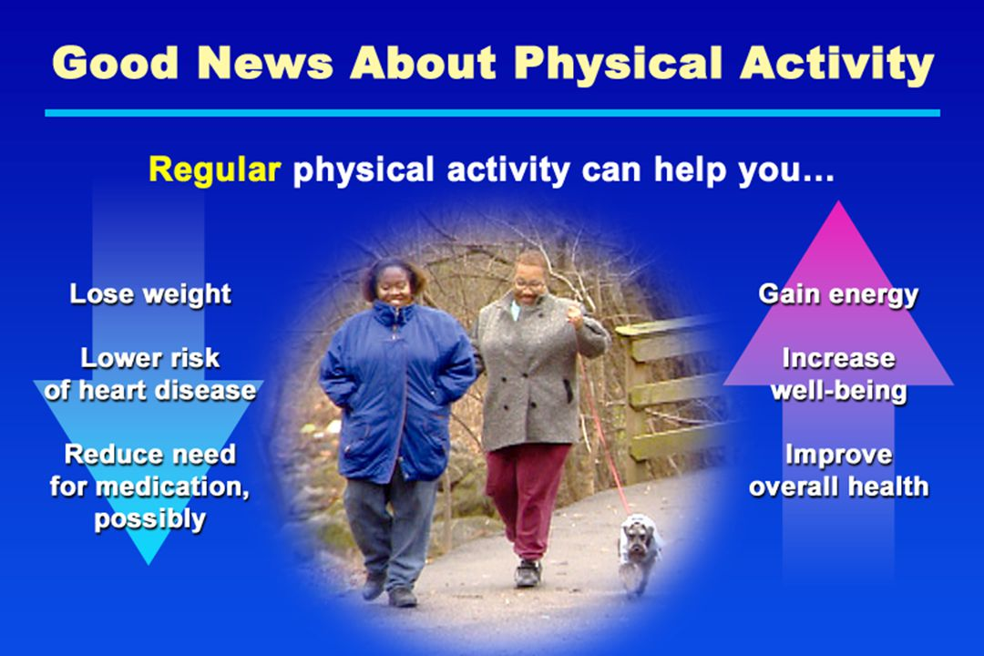 Good News About Physical Activity