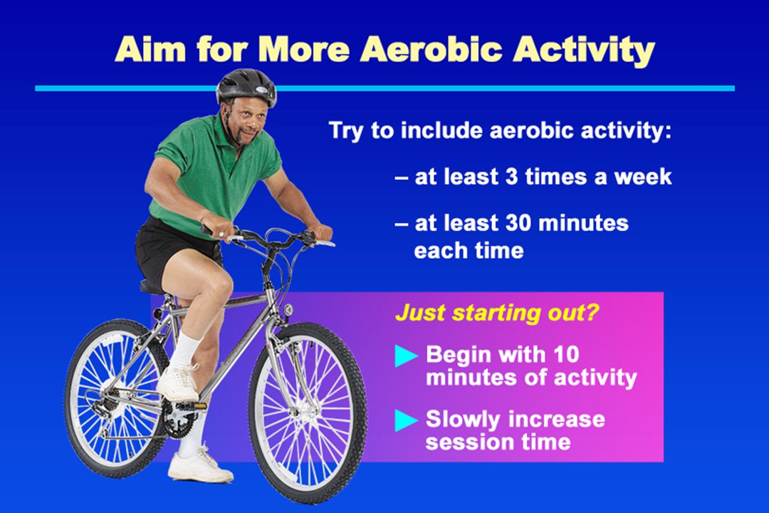 Aim for More Aerobic Activity