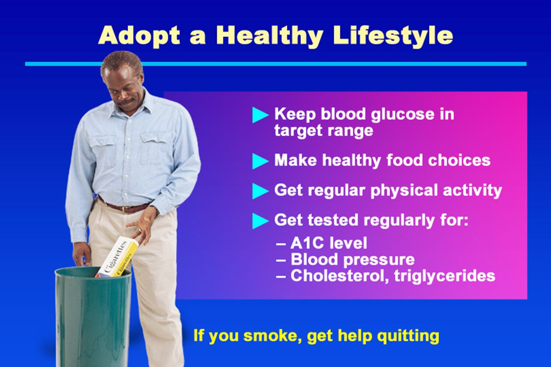 Adopt a Healthy Lifestyle