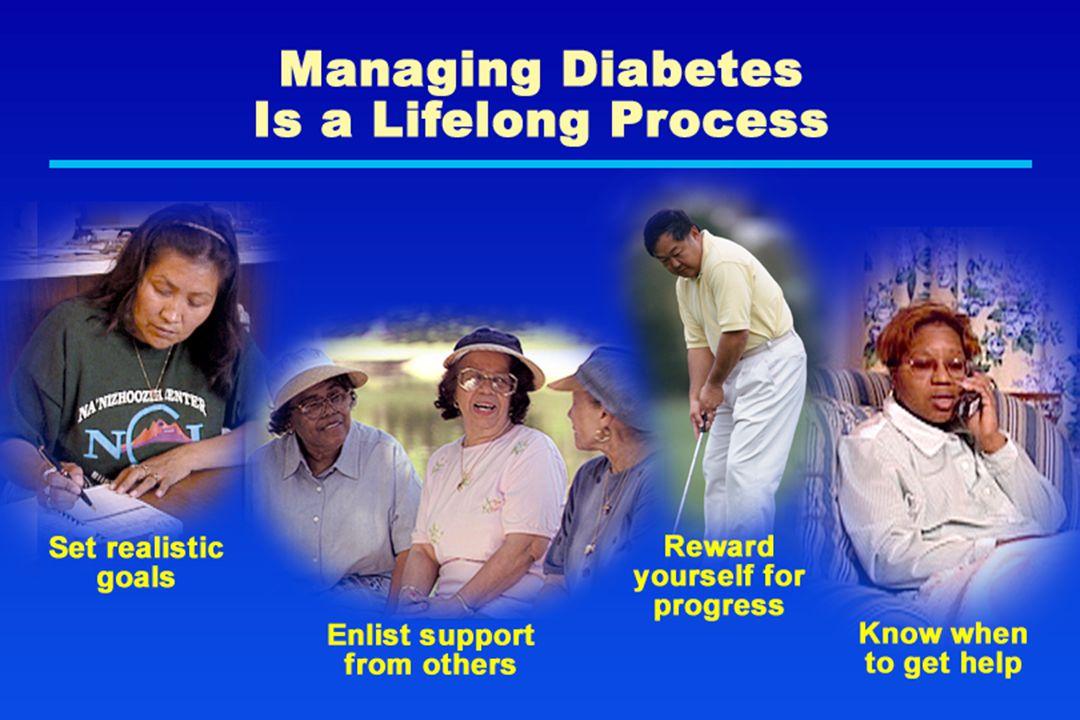 Managing Diabetes Is a Lifelong Process