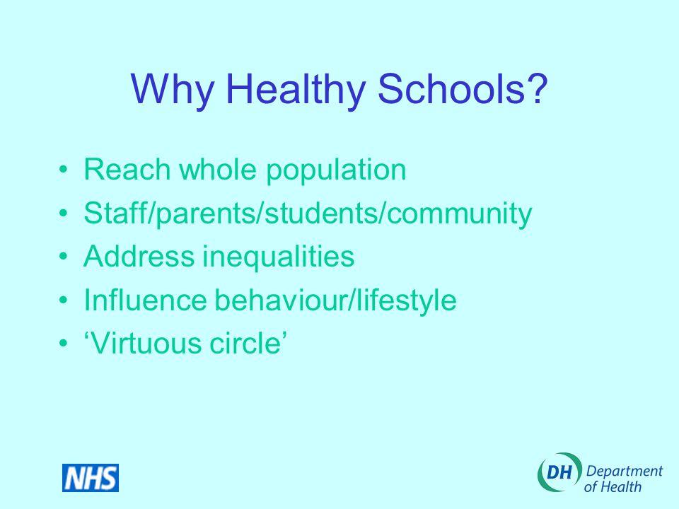 Why Healthy Schools.