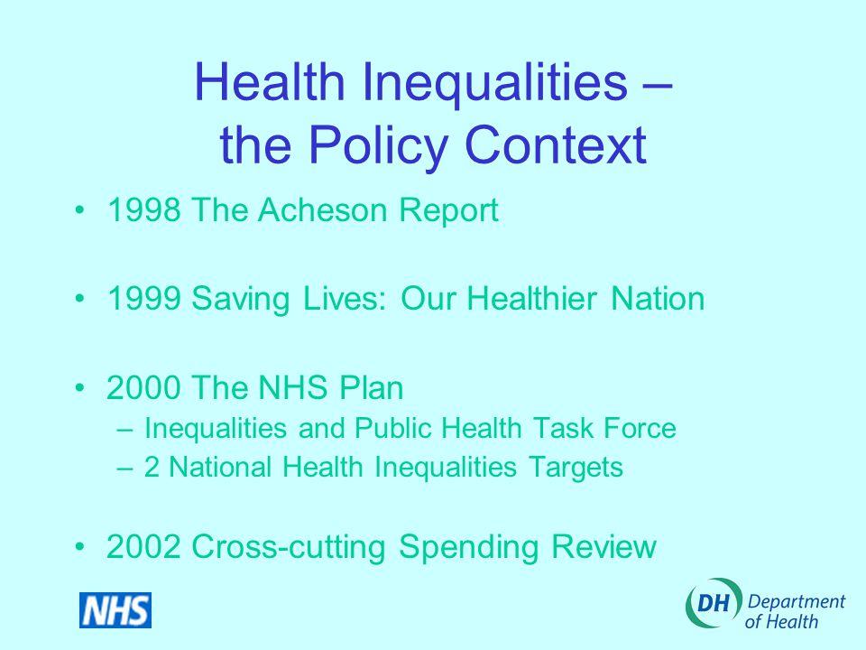 Improving Health through Healthy Schools Cathy Wynne Regional Public Health Specialist NW DHSC North Lancashire Healthy Schools Programme Launch April 2002