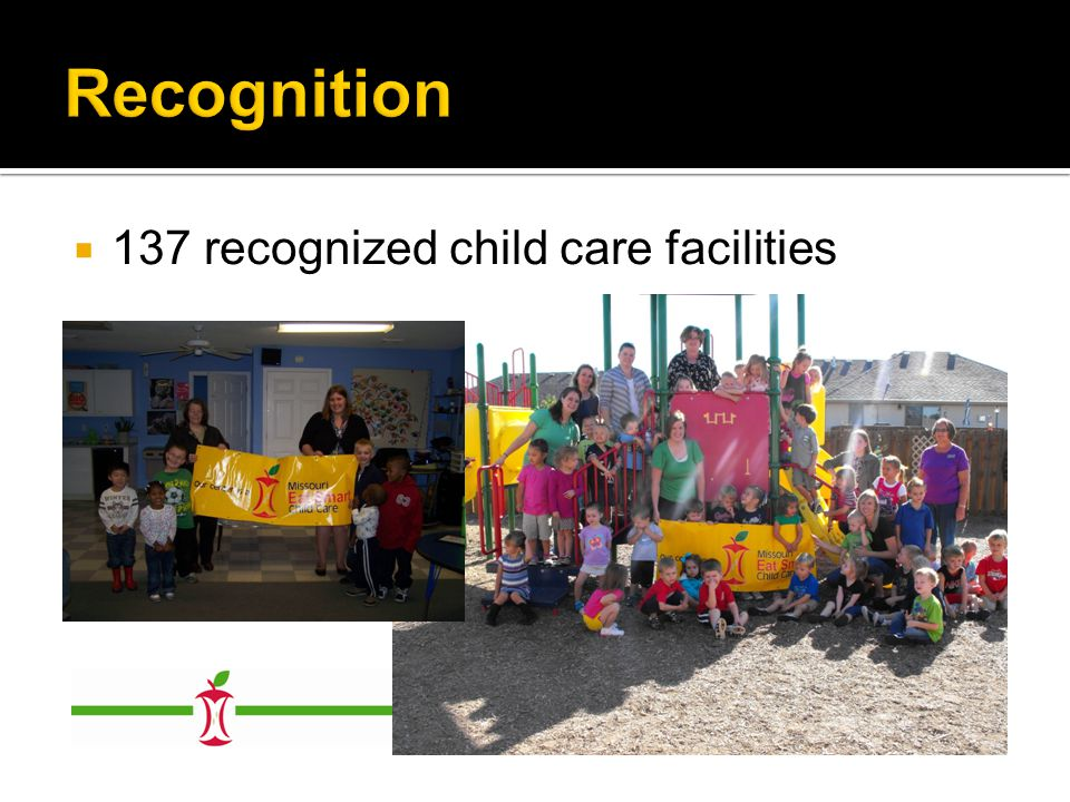  137 recognized child care facilities