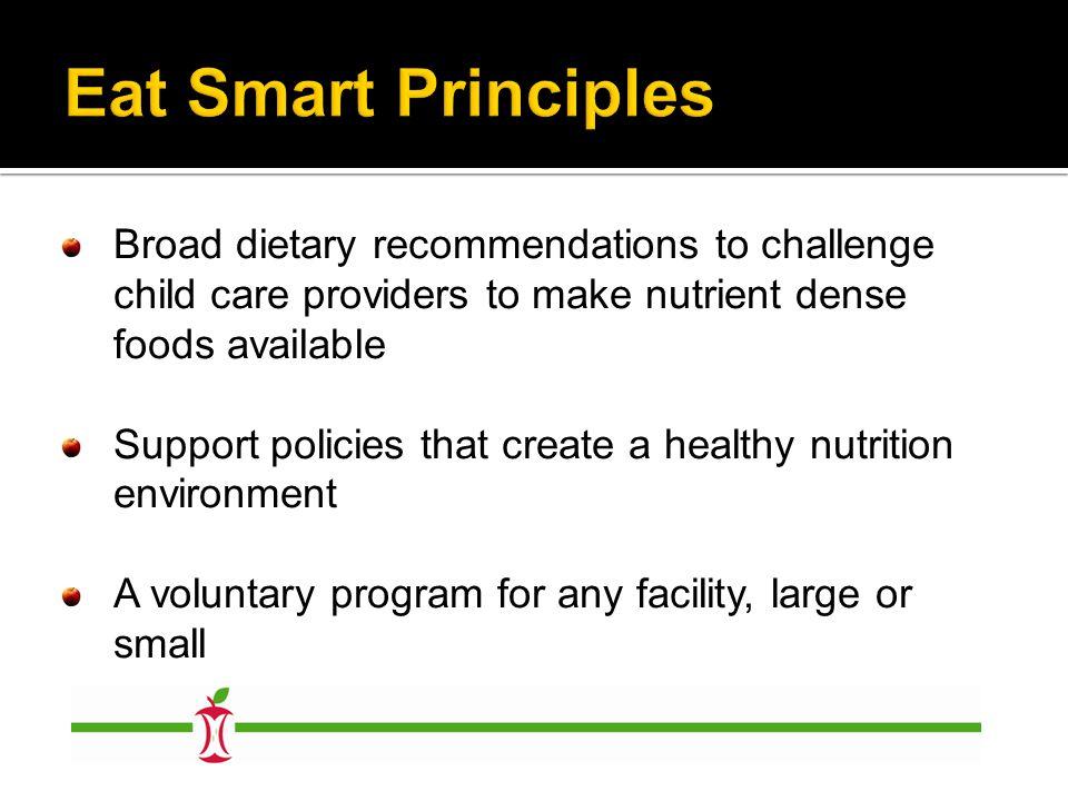 Minimum Level Intermediate Level Advanced Level Healthfulness