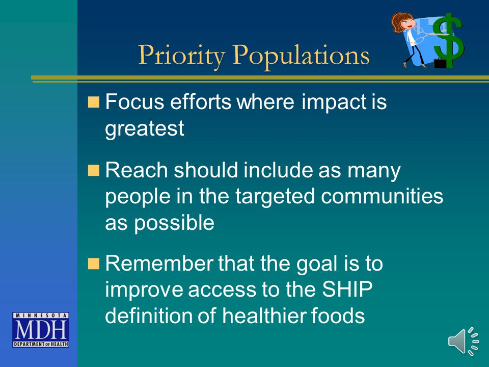 What is a Priority Population Communities that have low incomes