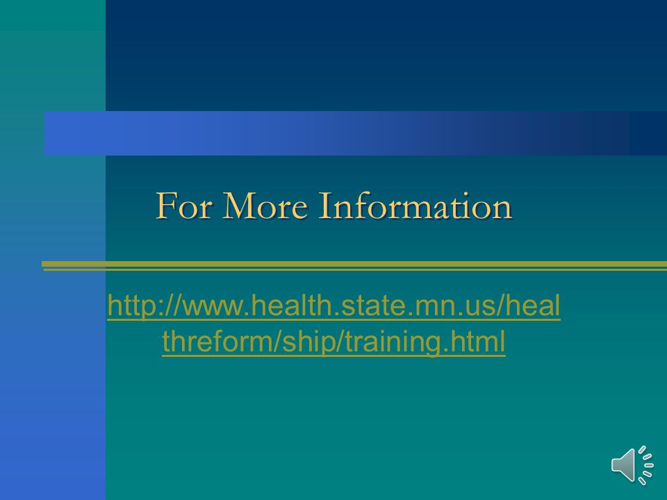 Sample HEAL MN Agenda