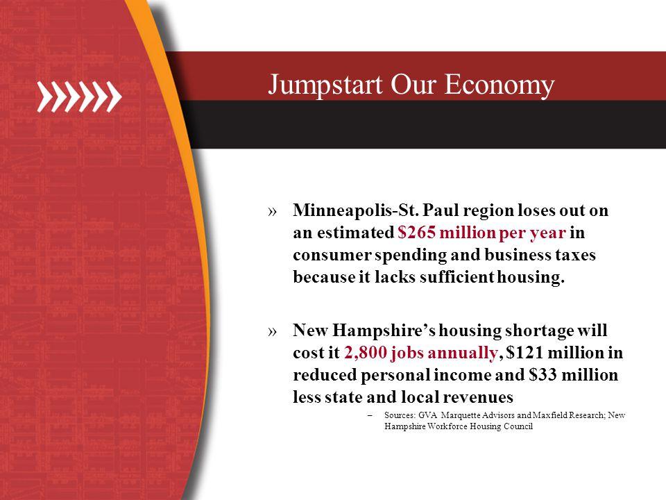 Jumpstart Our Economy »Minneapolis-St.