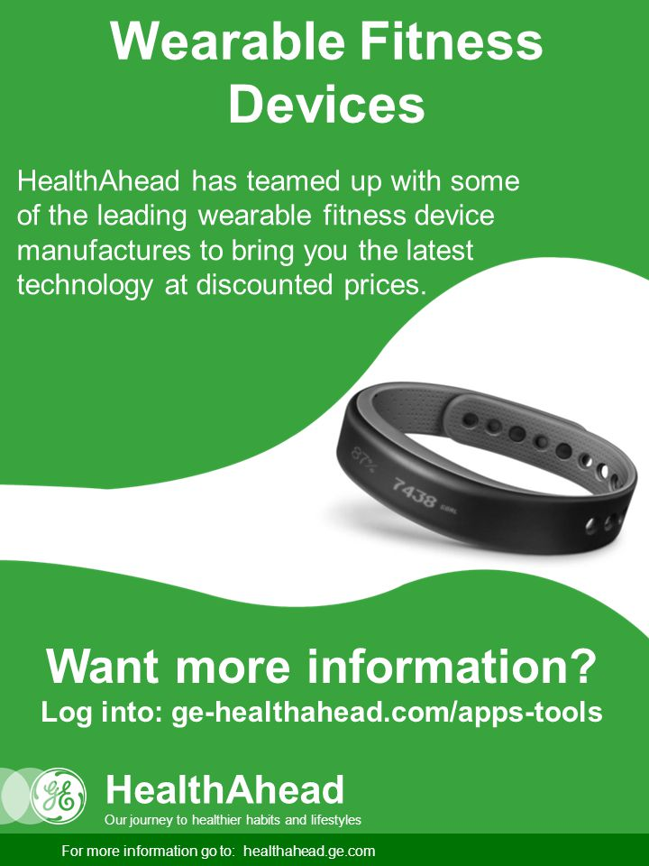 Wearable Fitness Devices HealthAhead has teamed up with some of the leading wearable fitness device manufactures to bring you the latest technology at discounted prices.