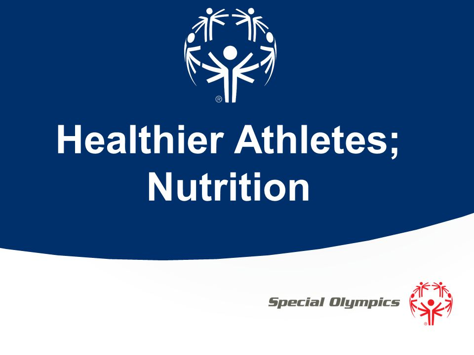 Healthier Athletes; Nutrition