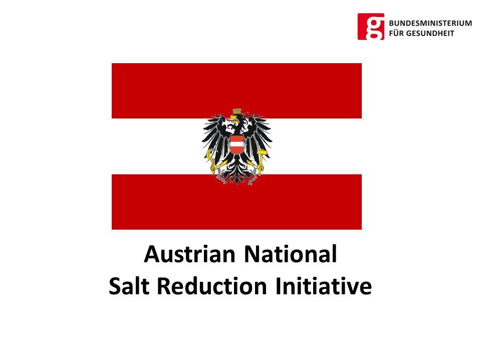 High Level Group on Nutrition and Physical Activity EU framework on salt reduction