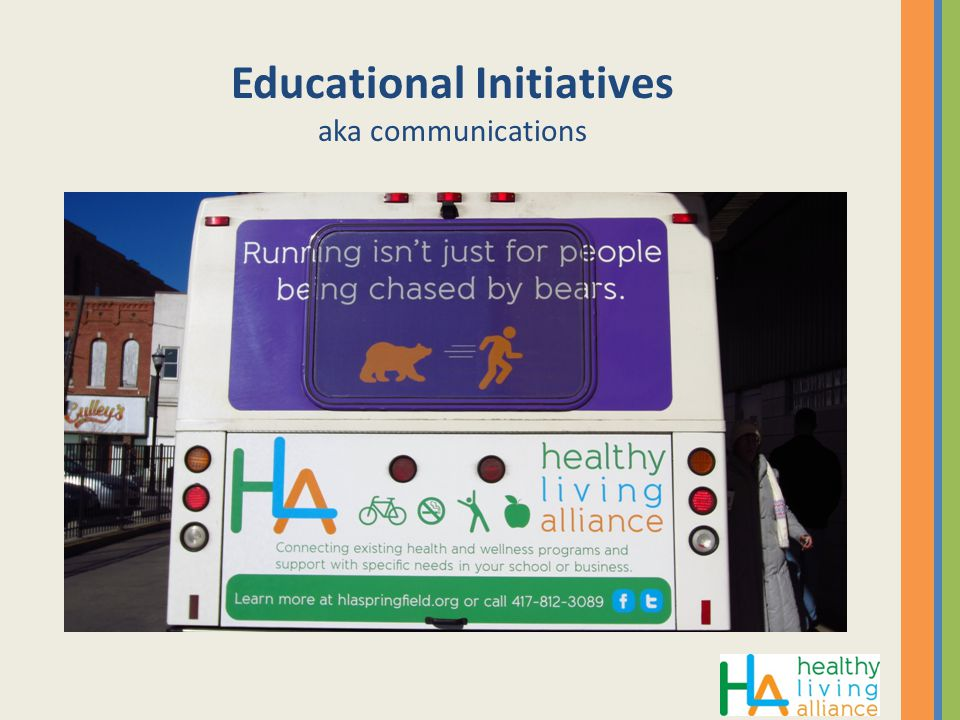Educational Initiatives aka communications