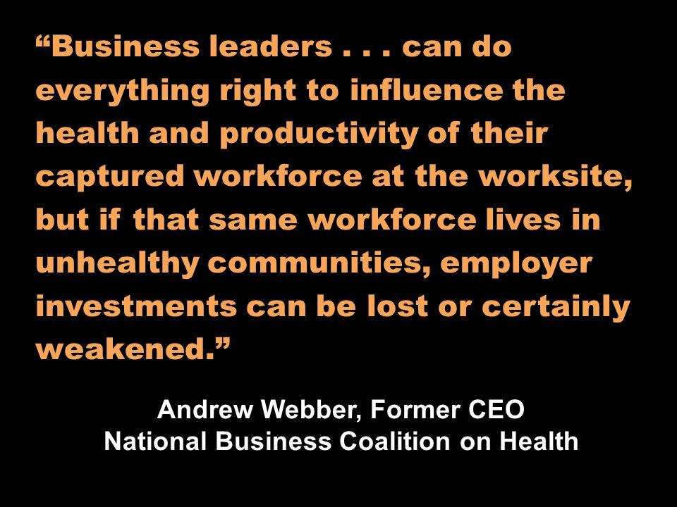 It will build healthier communities.