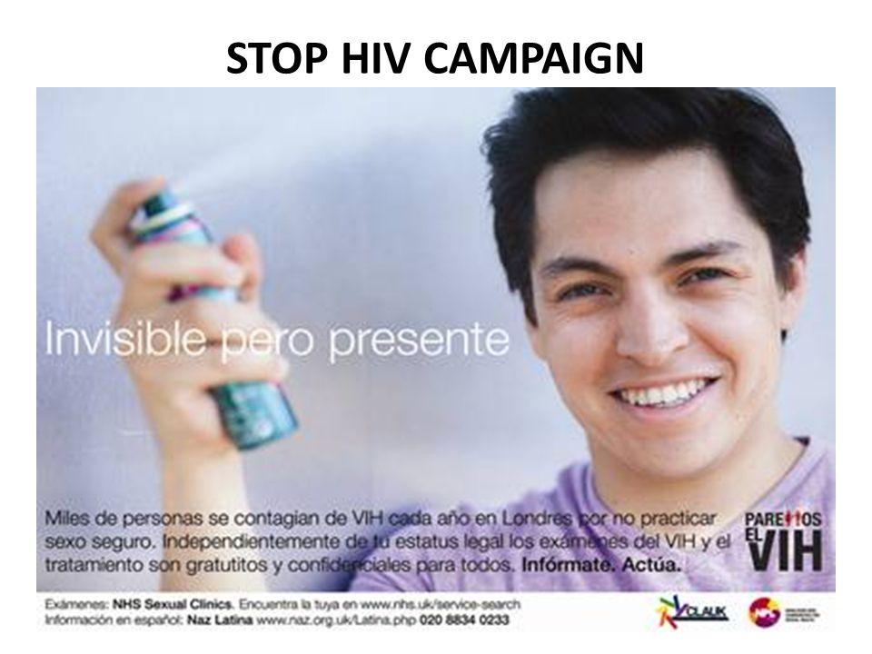 STOP HIV CAMPAIGN