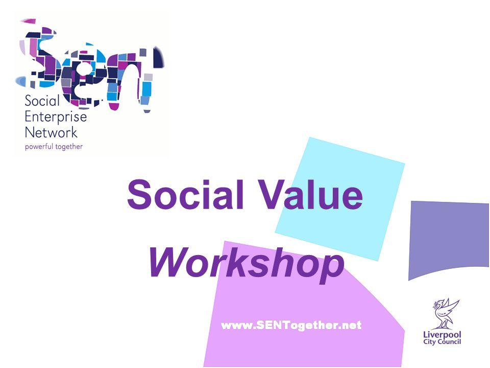 Social Value Workshop