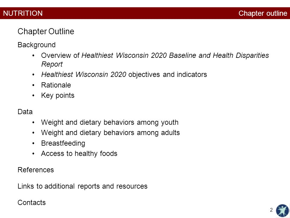 NUTRITION Weight and dietary behaviors among adults 23