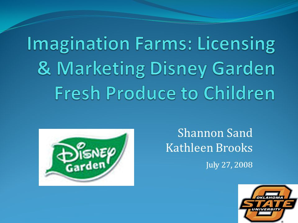 Shannon Sand Kathleen Brooks July 27, 2008