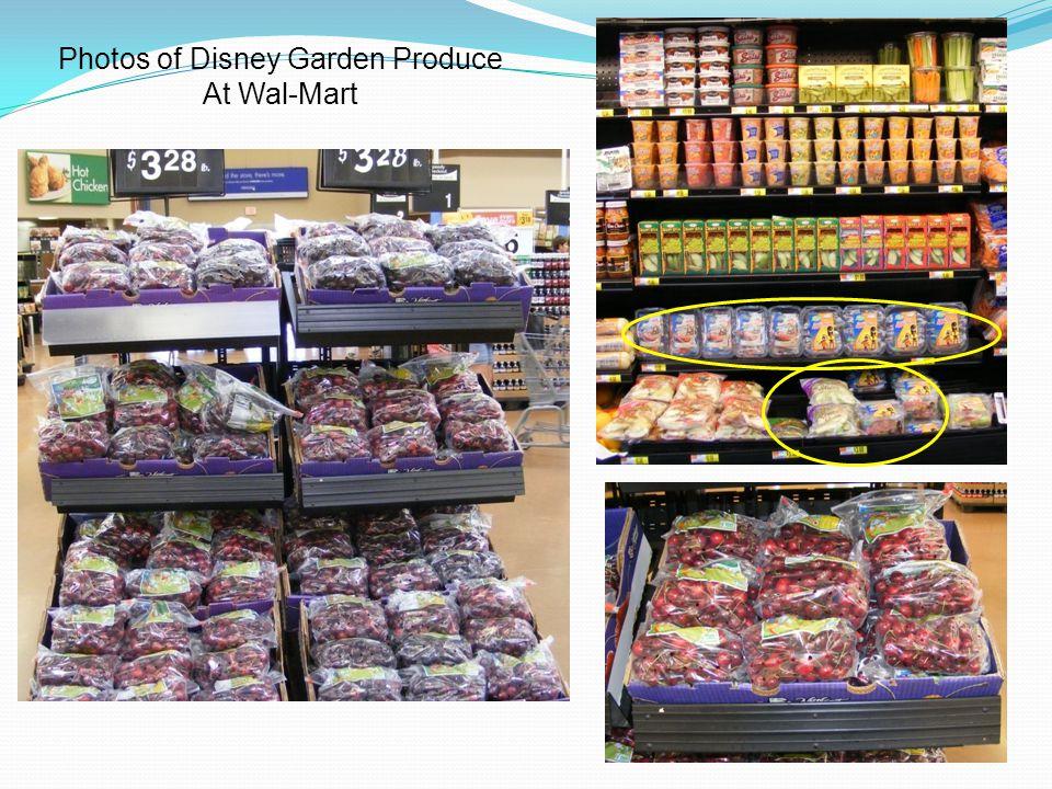 Photos of Disney Garden Produce At Wal-Mart