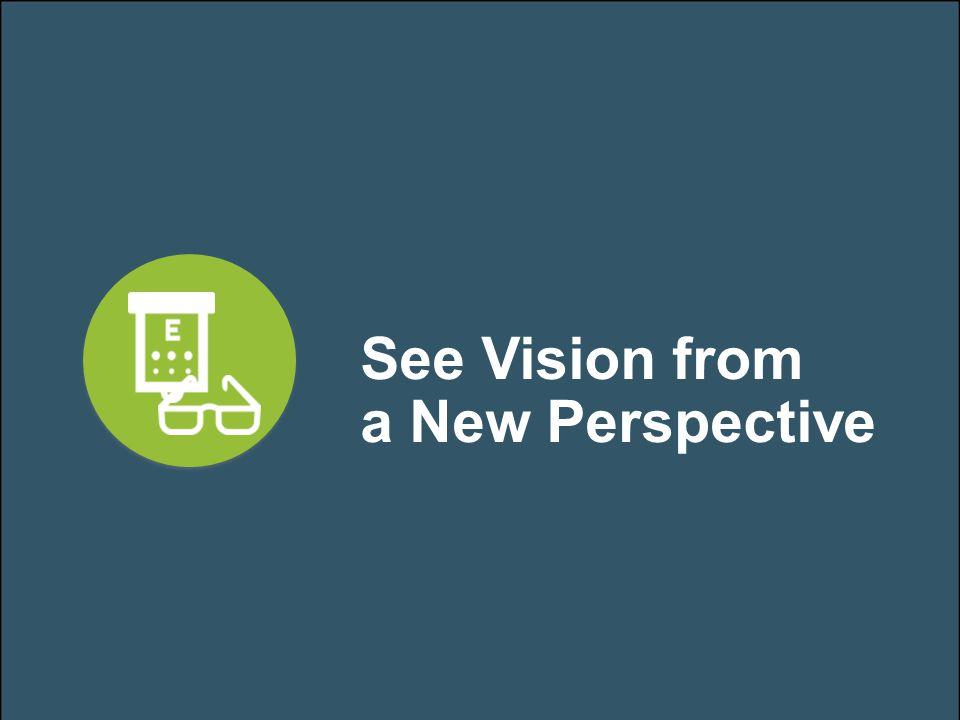 See Vision from a New Perspective