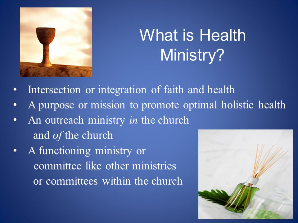 What is Health Ministry.