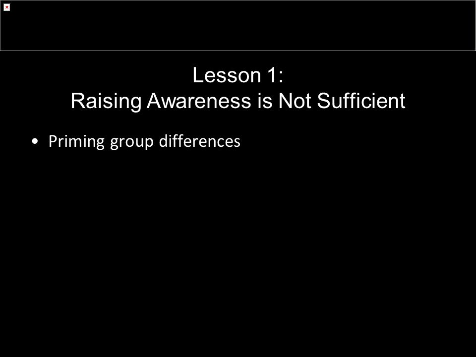 Priming group differences