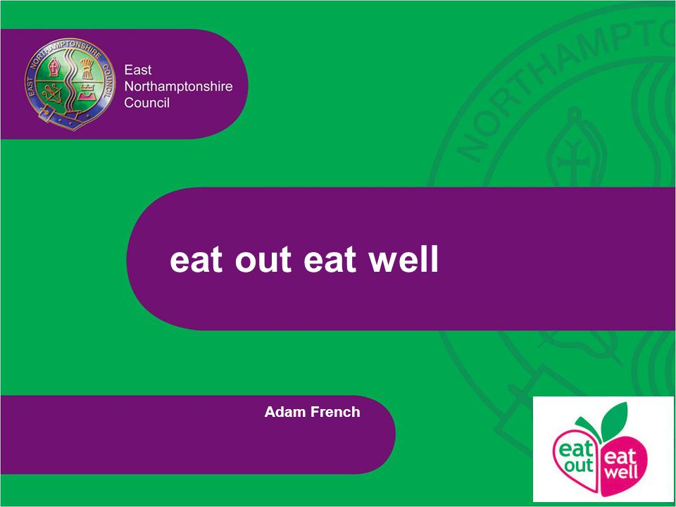 eat out eat well Adam French