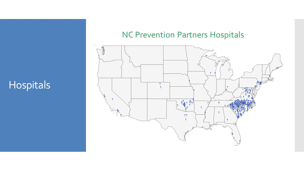Hospitals NC Prevention Partners Hospitals