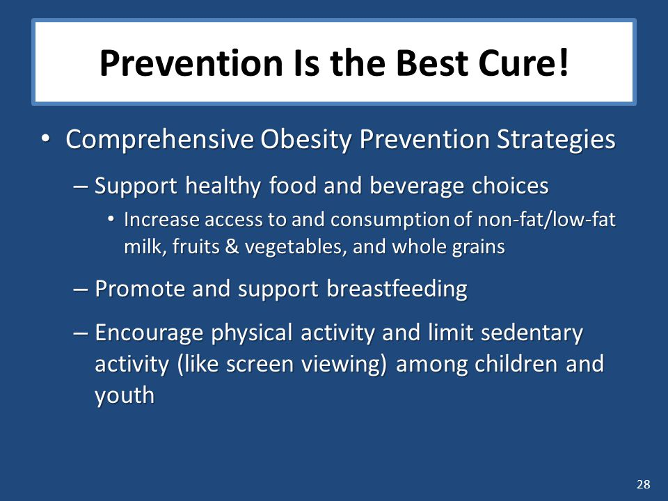 28 Prevention Is the Best Cure.