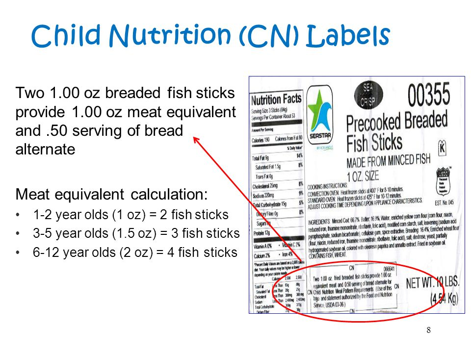 This 4 oz Corn Dog provides 2.0 oz equivalent meat and 2 servings bread alternate for Child Nutrition Meal Pattern Requirements.