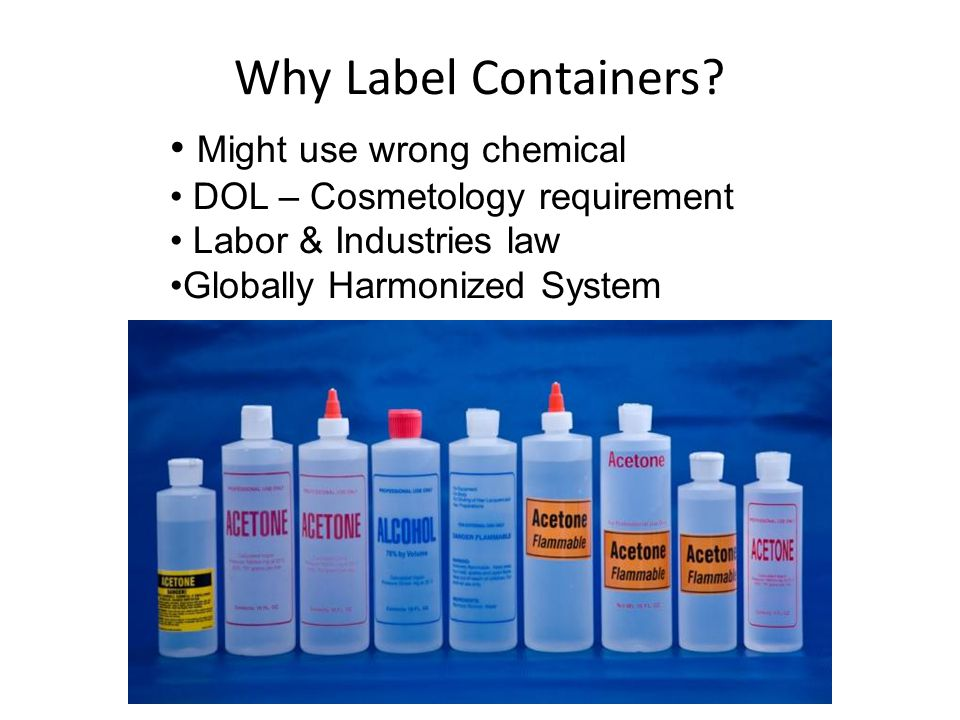 Why Label Containers.