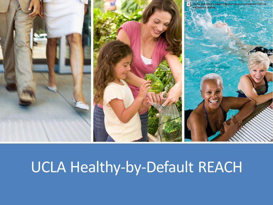 R.E.A.C.H stands for… Racial and Ethnic Approaches to Community Health