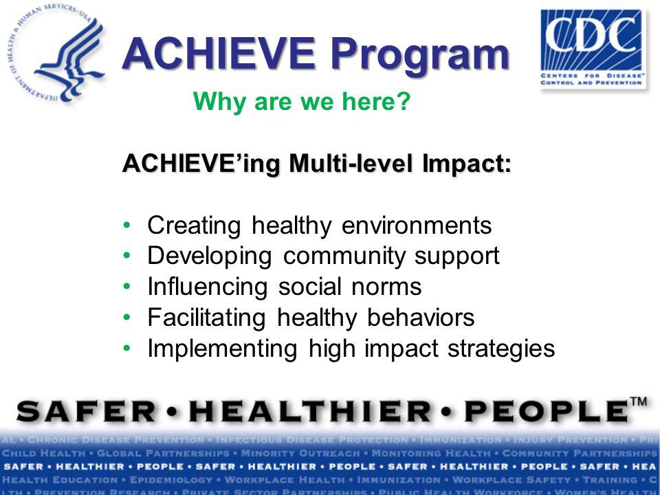 Rachael Banks Multnomah County Health Department ACHIEVE Mentor Coach CHANGE: Local Experience
