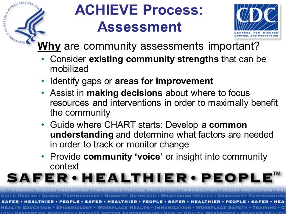 Why are community assessments important.