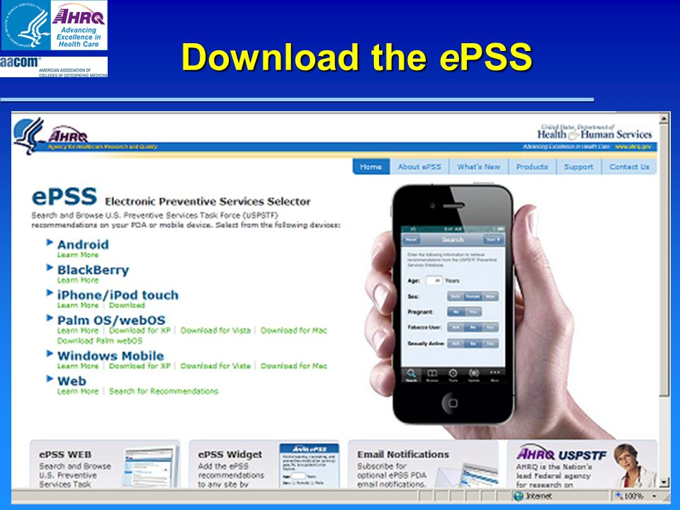 Download the ePSS