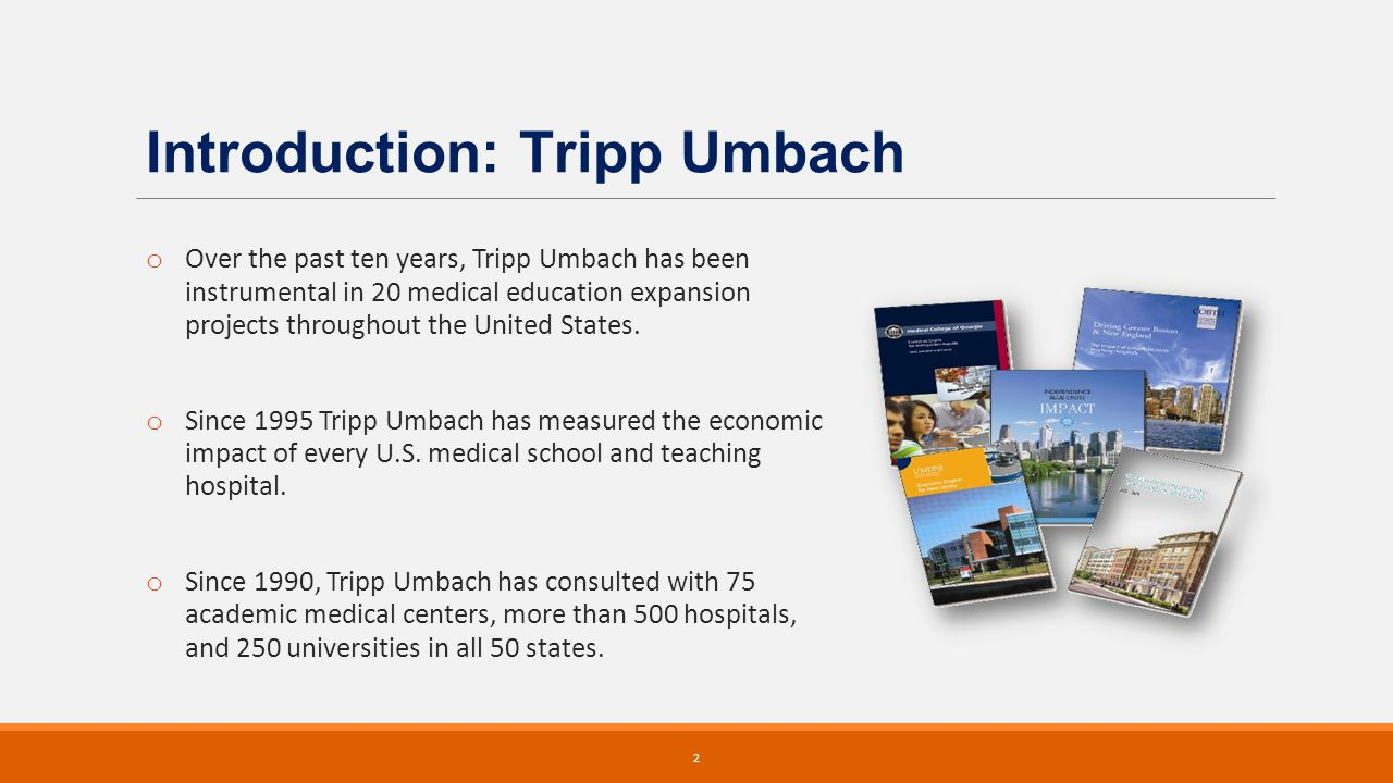 3 NSHE retained Tripp Umbach to: o Develop a comprehensive business plan to expand public medical education statewide at both the undergraduate and graduate levels.