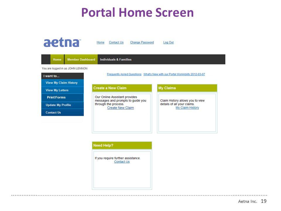 Aetna Inc. 18 Contacting Aetna Home
