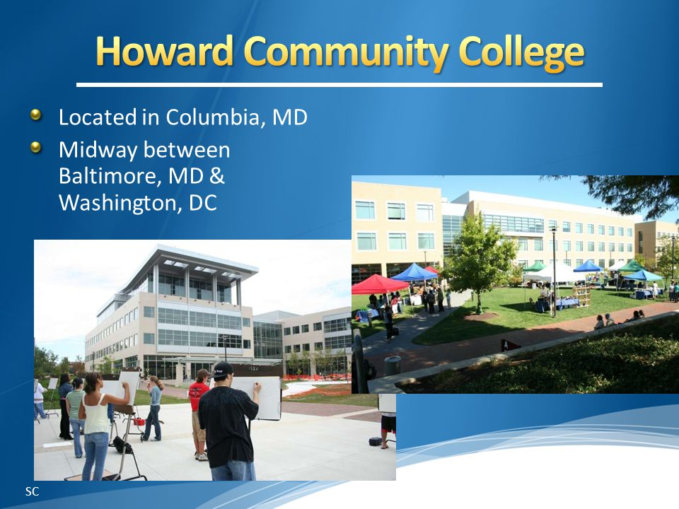 Located in Columbia, MD Midway between Baltimore, MD & Washington, DC SC