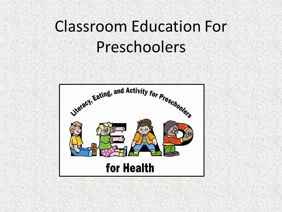 Classroom Education For Preschoolers