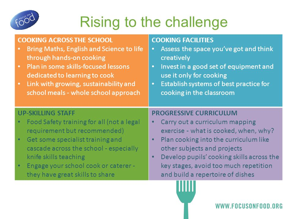 Focus on Food Successes New cooking room design School cooks training and support Oakmeadow PS Leys Farm JS Kirklees Caterers