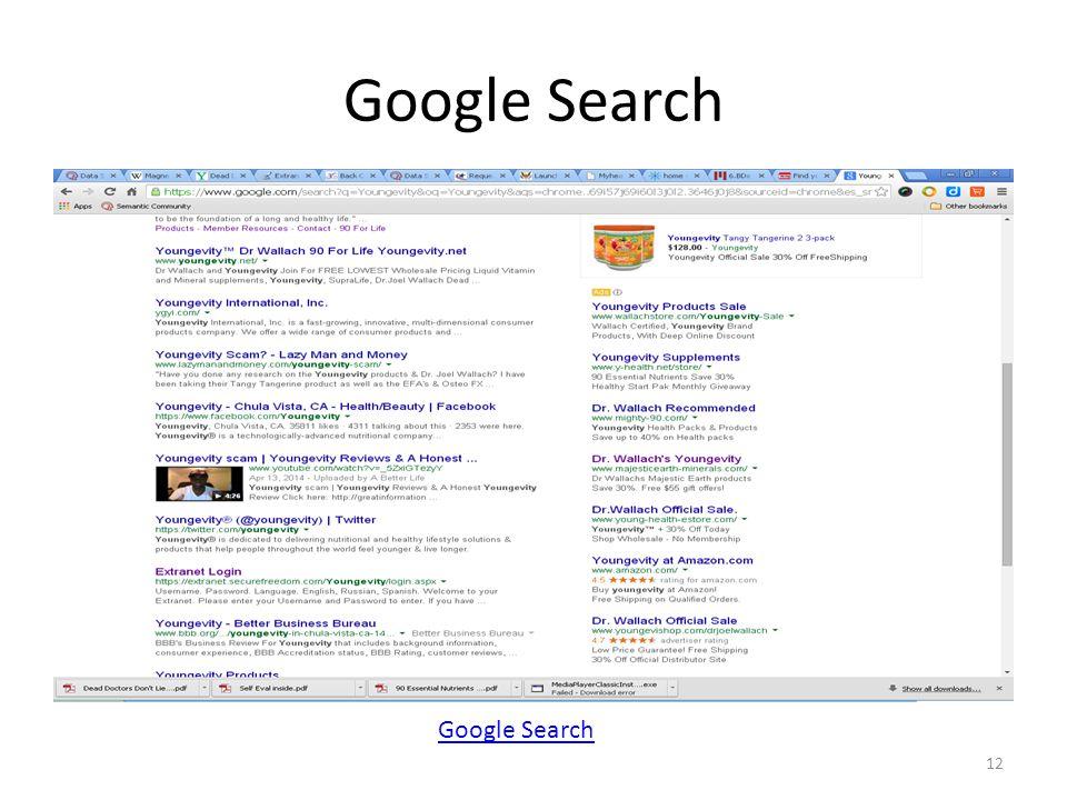 Google Search 12 Google Search