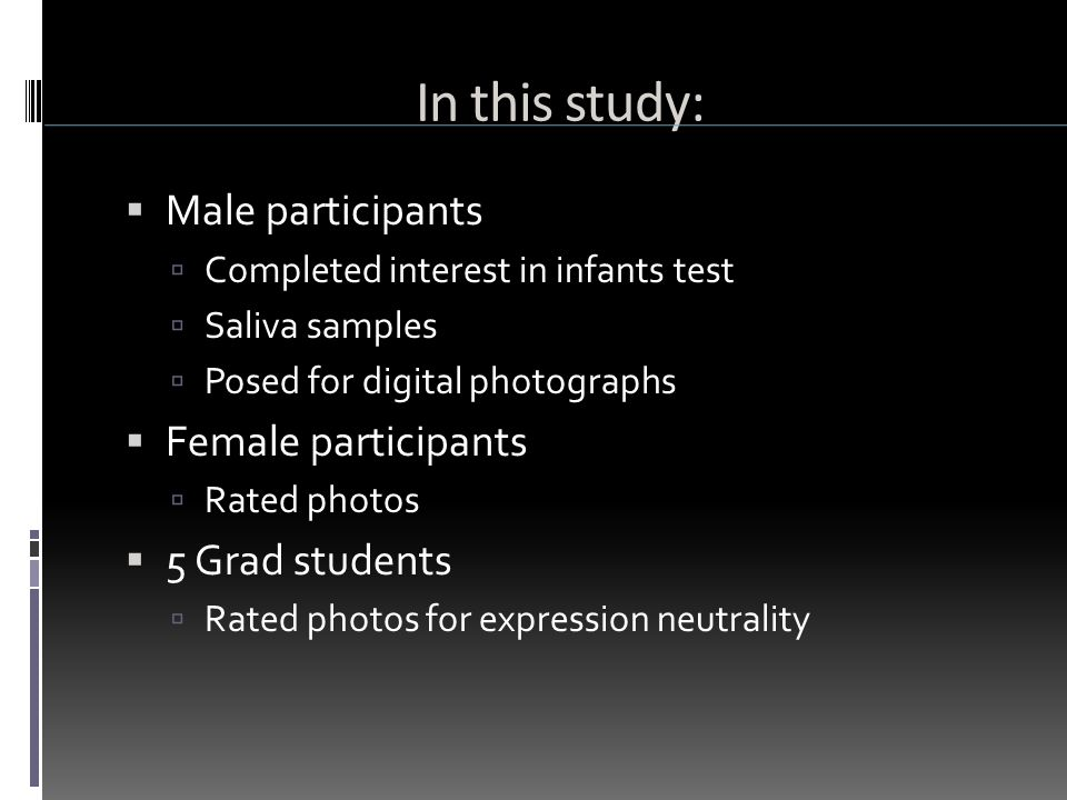 Previous Research  Facial masculinity  Honest signal of genetic quality.