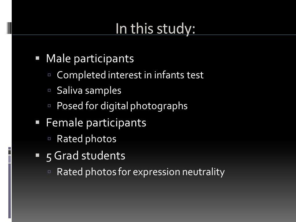 Results: P ART T WO  Facial masculinity/femininty morph  Facial neutrality/happiness morph