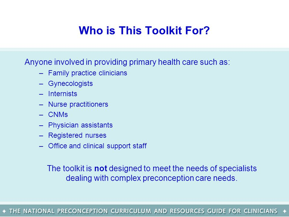 Who Created This Toolkit.