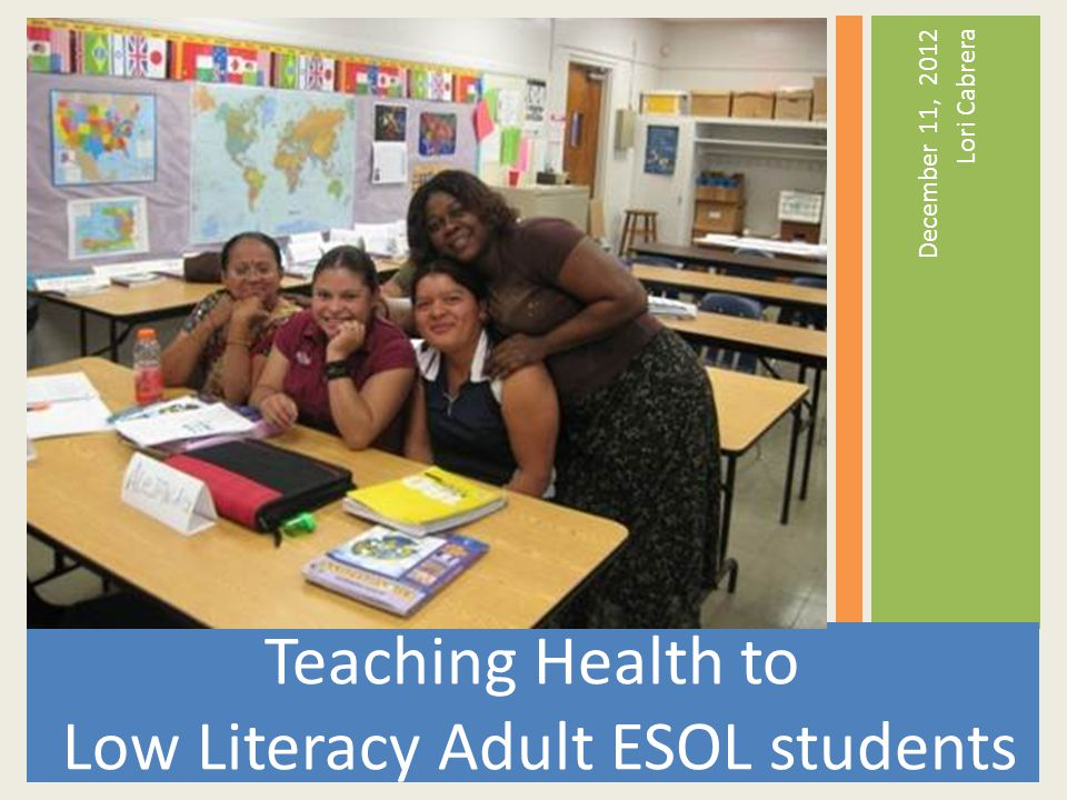 1.Introductions 2. The Good, the Bad, and the UGLY (Teaching health to low-literacy students) 3.