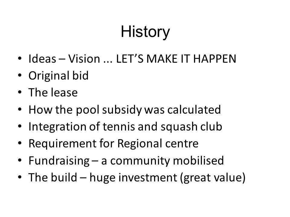 History Ideas – Vision...