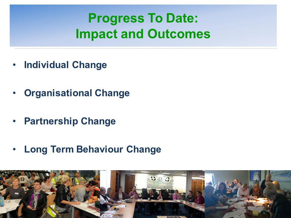 Setting the Scene NICE BEHAVIOUR CHANGE GUIDELINES (2007/2014 ) Recommended Principles Planning Social context Education and training Individuals Communities Populations Effectiveness Cost effectiveness Developing Capacity (MECC Guidance Model 2012) Developing the infrastructure to operationalise MECC Ensuring MECC is embedded and sustainable Ensuring people have the capability and vision to operationalise (Dahlgren and Whitehead 1991 Adapted by Barton and Grant 2006)
