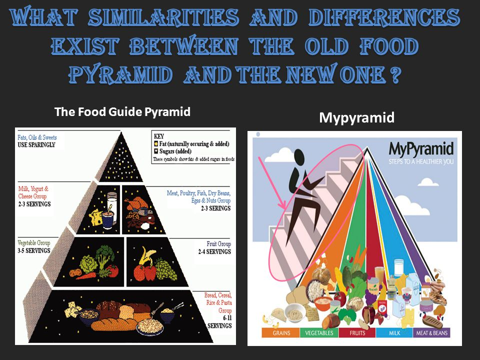 The Food Guide Pyramid Mypyramid