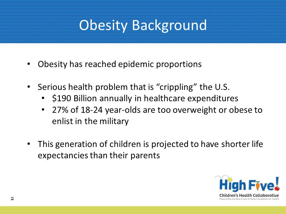 33 Powered by the Statewide effort to fight childhood obesity in Idaho Introducing...