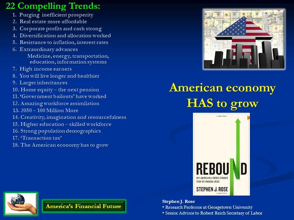 American economy HAS to grow America's Financial Future Stephen J.